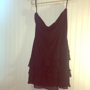 White House Black Market Black Mini Dress XL